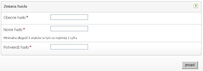 ostylowany formularz